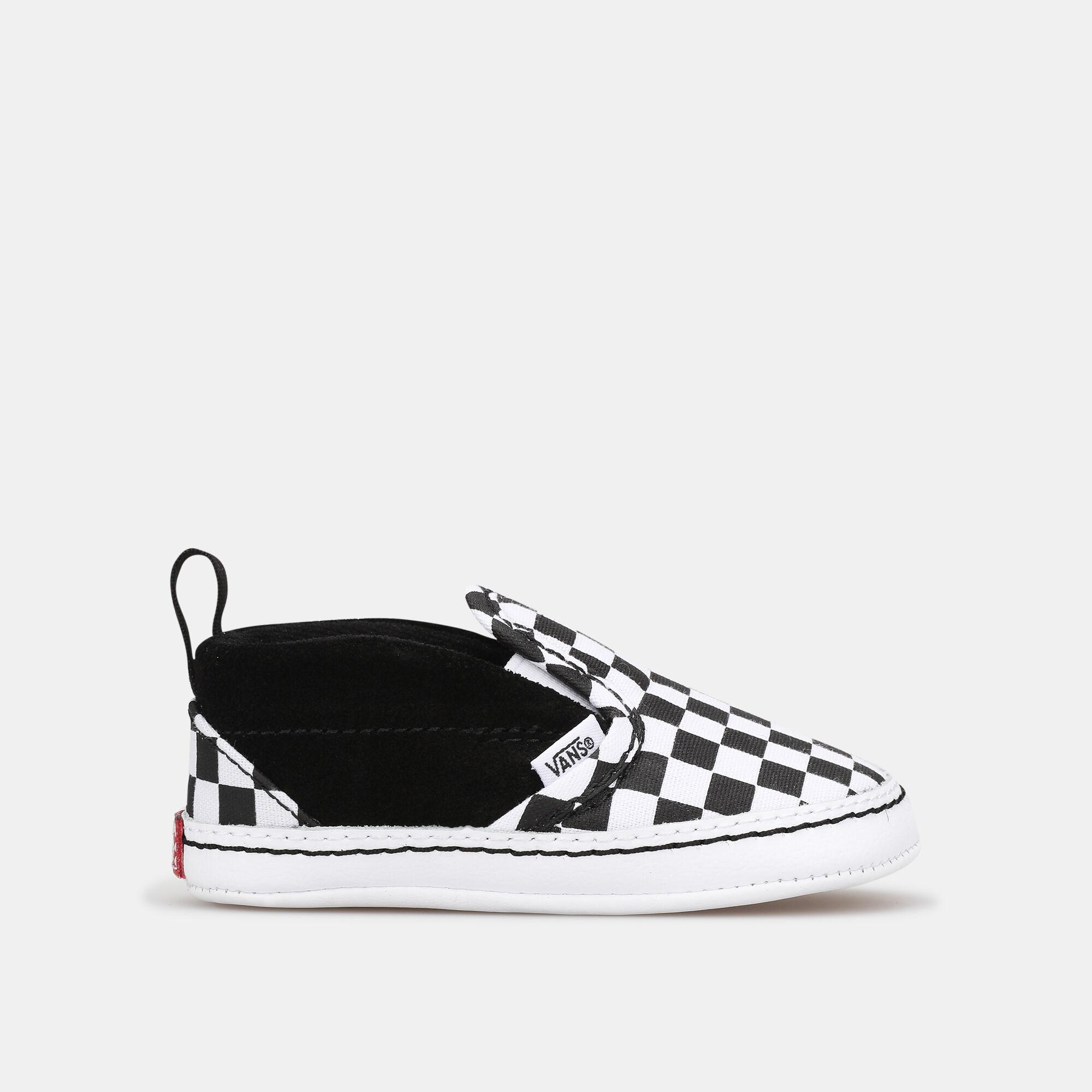 Buy Vans Kids' Checker Slip-On V Crib